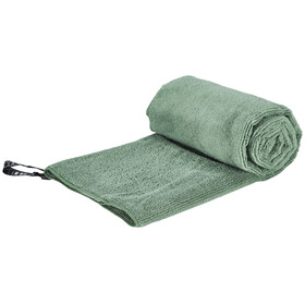 Cocoon Microfiber Terry handdoek Light Medium groen